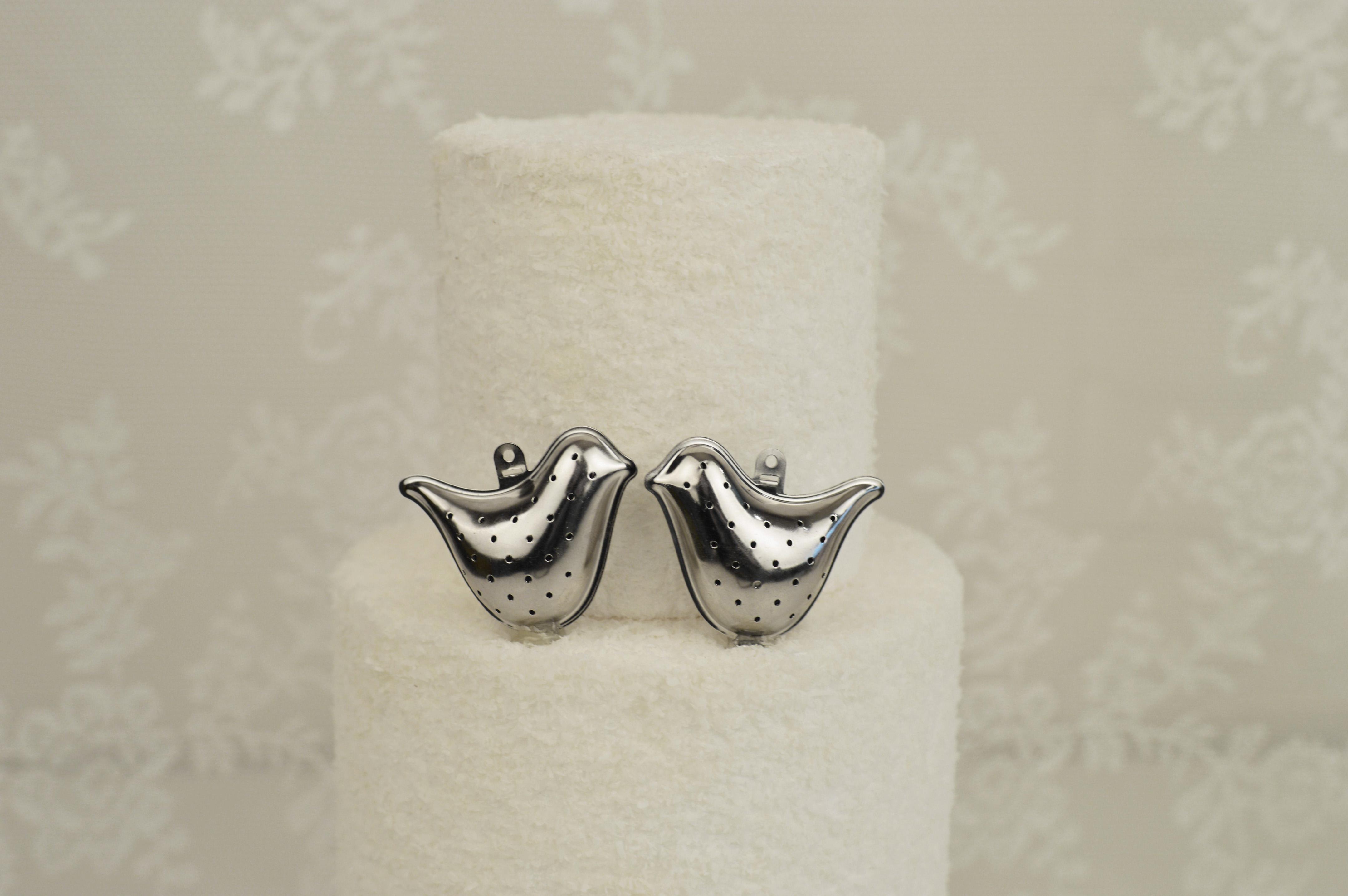 Zoet van Zus | Bruidstaart love birds
